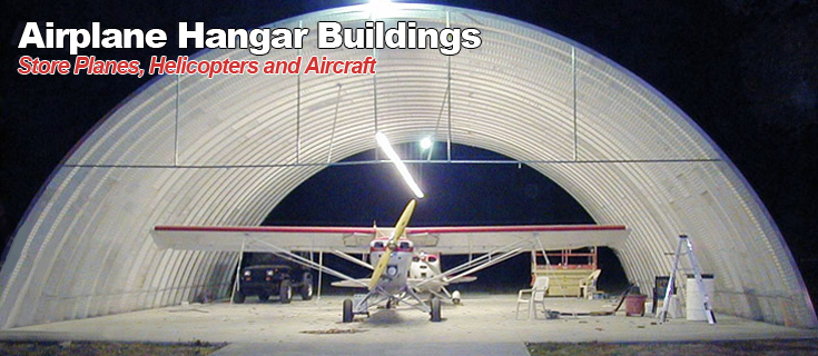 Airplane Hangar Buildings