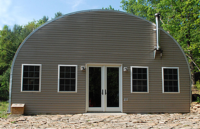 Garage buildings by longlife steel buildings for Two story metal building homes