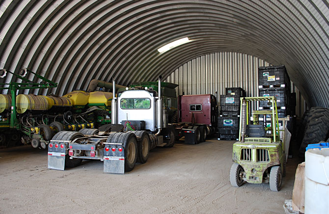 Garage Buildings For Trucks Equipment Storage And More