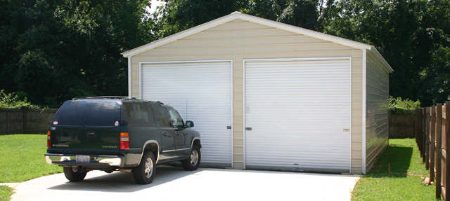 Garages by longlife steel buildings for Versatile garages
