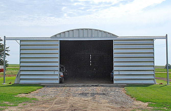 Farm Storage Quonset Buildings Made By Longlife Steel