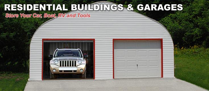 residential steel garages