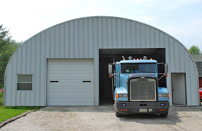 Garage Buildings for trucks equipment storage and more – Truck Garage Plans
