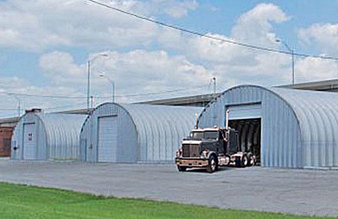 Garage Buildings for trucks equipment storage and more – Semi Truck Garage Plans