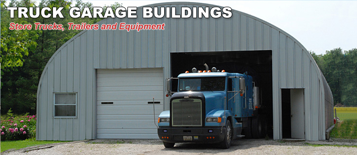 Garages For Tractors : Garage buildings for trucks equipment storage